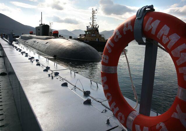 Atomová ponorka Vladimir Monomach projektu 955