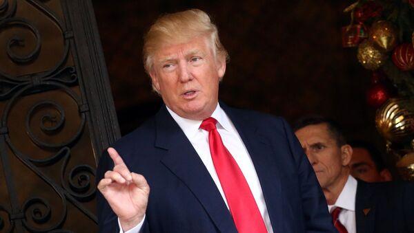Zvolený prezident USA Donald Trum - Sputnik Česká republika