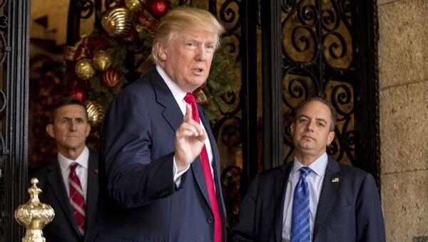 Nově zvolený americký prezident Donald Trump - Sputnik Česká republika