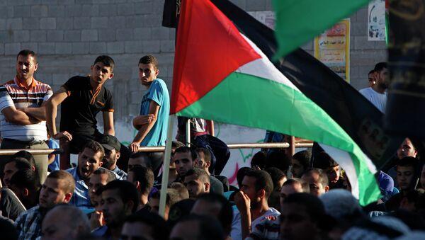 Palestinská vlajka - Sputnik Česká republika