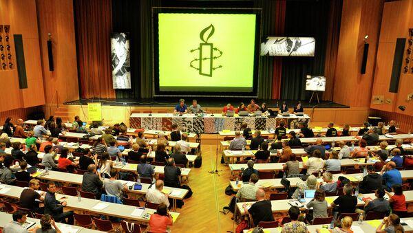 Amnesty International - Sputnik Česká republika