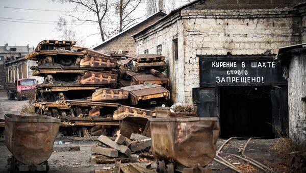 Uhelný důl Ilovajskaja - Sputnik Česká republika