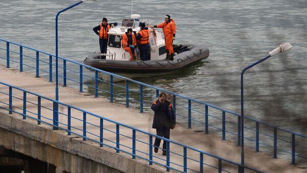 Pátrání na místě pádu Tu-154 - Sputnik Česká republika