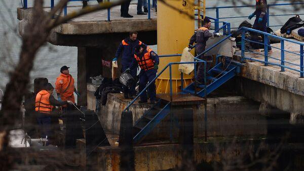 Havárie Tu-154 v Černém moři - Sputnik Česká republika