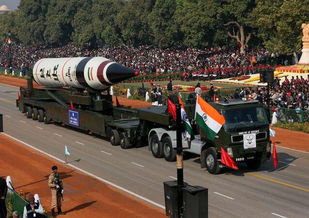 Mezikontinentální balistická raketa Agni-5