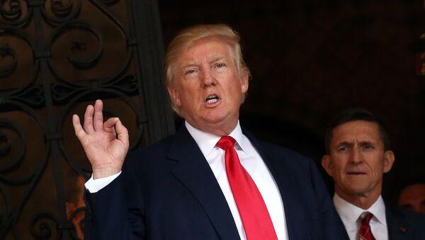 Zvolený prezident USA Donald Trump - Sputnik Česká republika