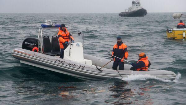 Záchranářské práce na místě pádu Tu-154 - Sputnik Česká republika