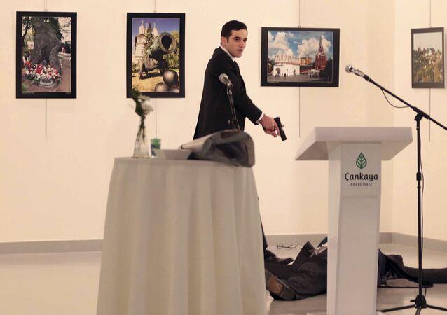 Vrah ruského velvyslance Andreje Karlova