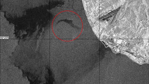 Radiolokační snímek z místa pádu Tu-154 - Sputnik Česká republika