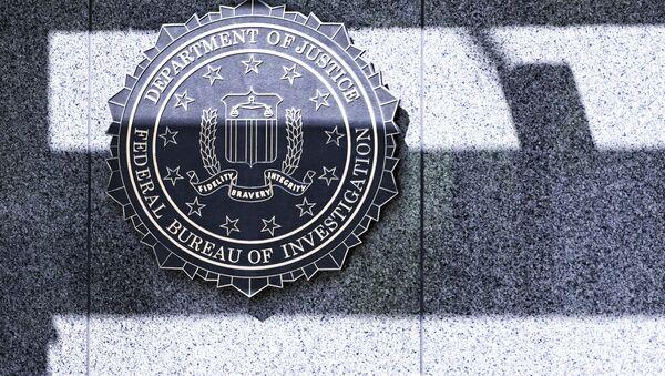 FBI logo - Sputnik Česká republika