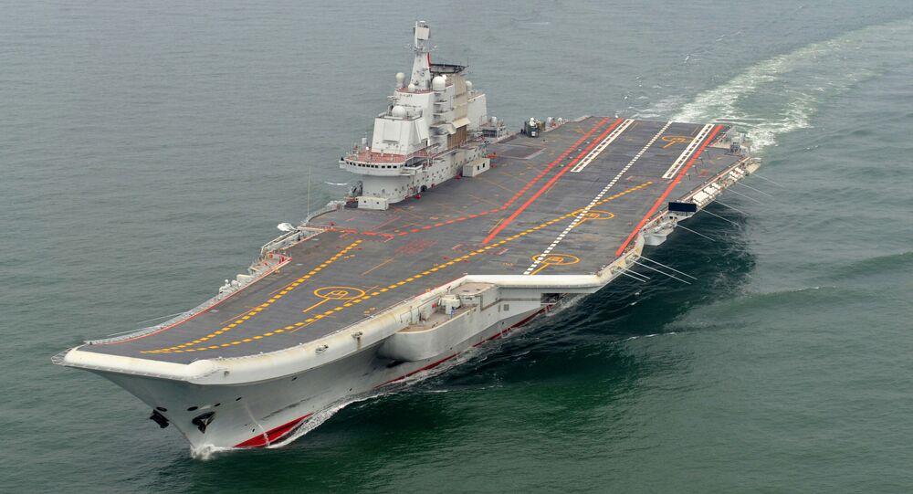 Čínská letadlová lod' Liao-ning