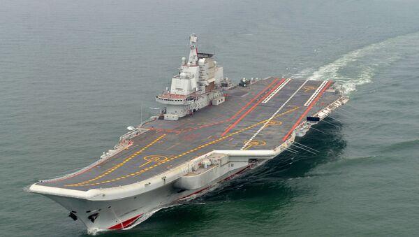 Čínská letadlová lod' Liao-ning - Sputnik Česká republika