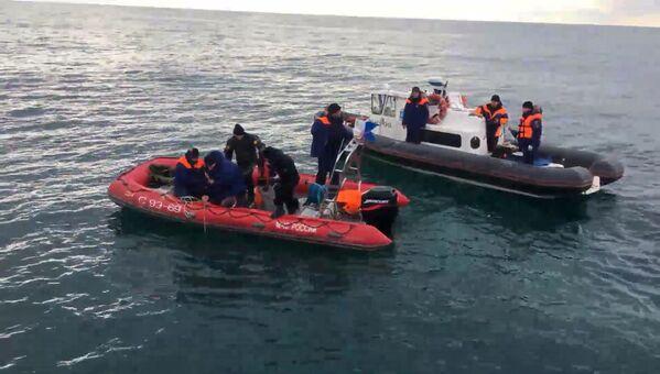 Pátrací operace v Černém moři - Sputnik Česká republika