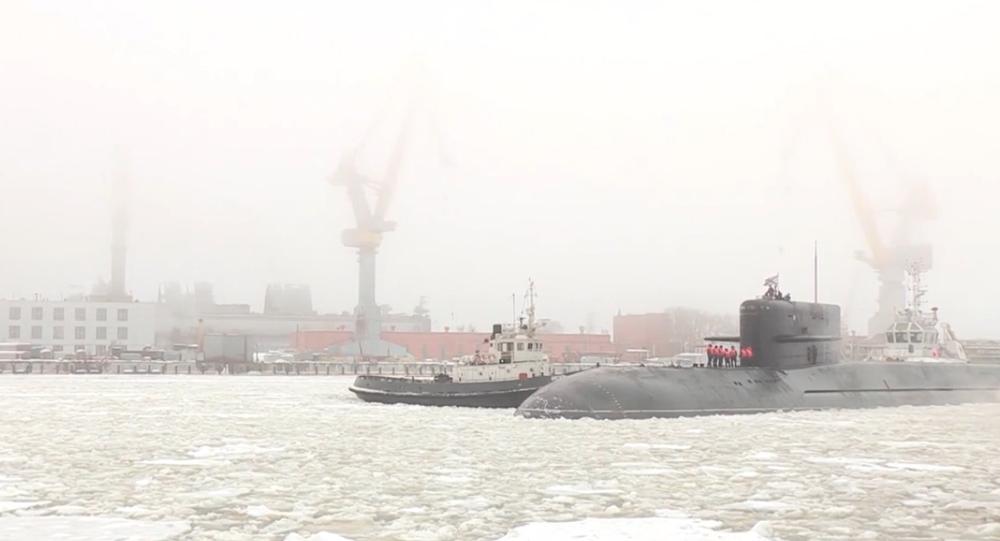 Ponorka Podmoskovje je opět v provozu