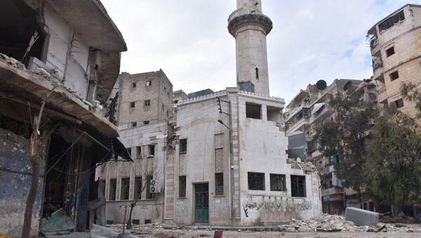 Válkou zničené Aleppo - Sputnik Česká republika