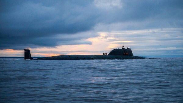 Jaderná ponorka K-560 Severodvinsk - Sputnik Česká republika