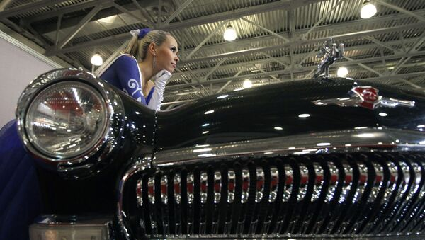 Automobil GAZ-21 Volha - Sputnik Česká republika