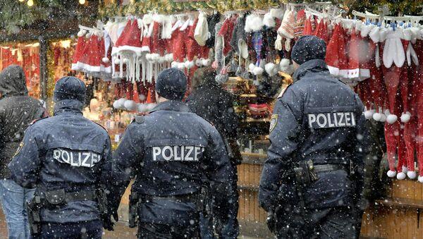 Vánoce a policie - Sputnik Česká republika
