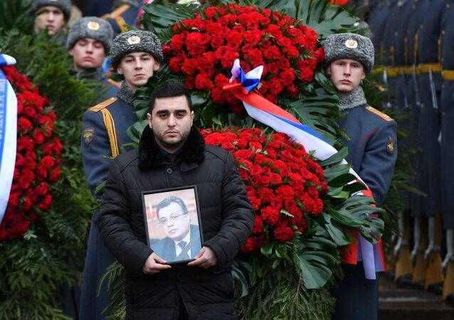 Rozloučení s ruským velvyslancem Andrejem Karlovem