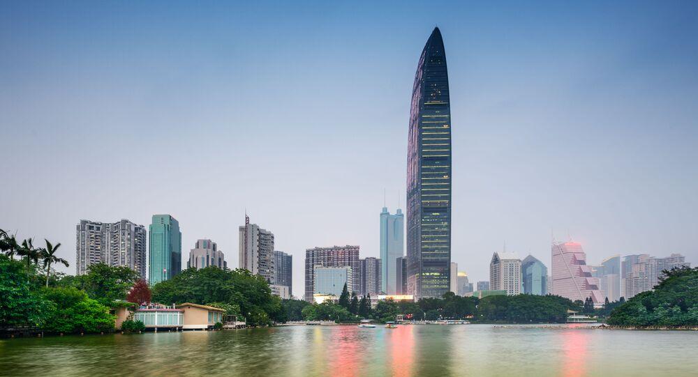 Mrakodrap ve městě Šen-čen
