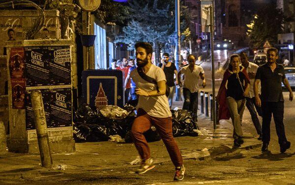 Protesty na Taksimském náměstí - Sputnik Česká republika