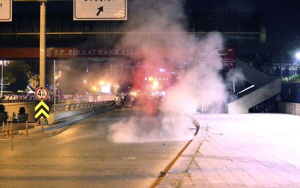 Kouř v Ankaře - Sputnik Česká republika