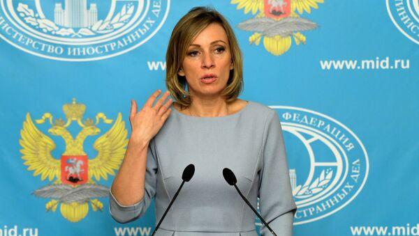 Tisková mluvčí Ministerstva zahraničí Ruska Maria Zacharovová - Sputnik Česká republika