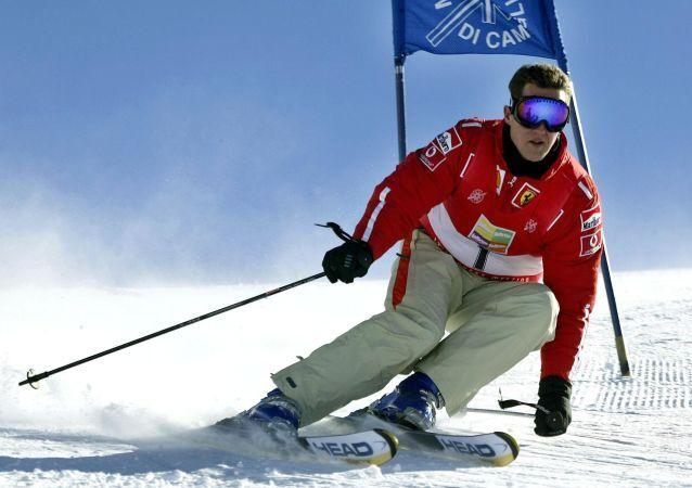 Sedminásobný mistr Formule 1 Michael Schumacher