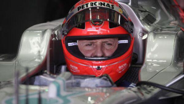 Bývalý pilot Formule 1 Michael Schumacher - Sputnik Česká republika