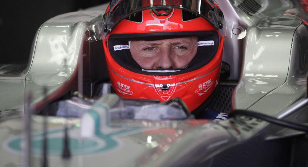 Bývalý pilot Formule 1 Michael Schumacher