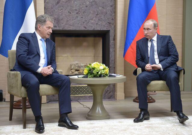 Sauli Niiniste a Vladimir Putin