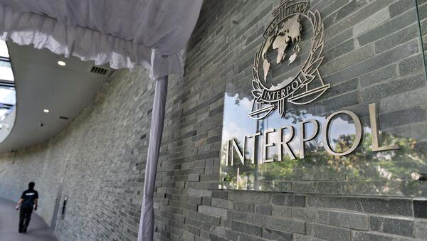 Interpol logo - Sputnik Česká republika