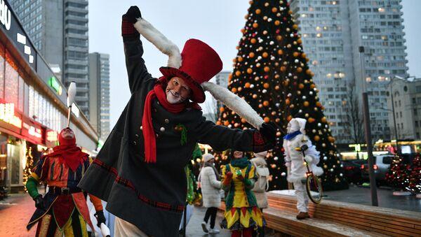 Vánoční oslavy v Moskvě - Sputnik Česká republika