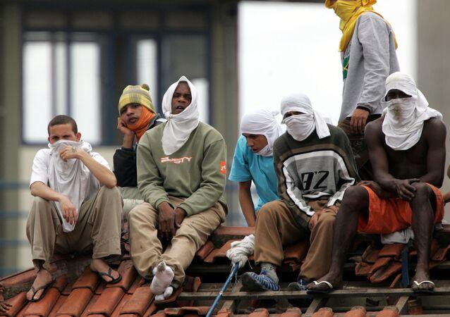 Brazílští vězni. Archivní foto