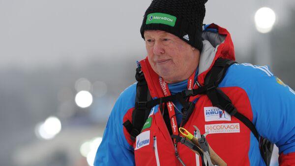 Bývalý trenér národního týmu žen ruského biatlonu Wolfgang Pichler - Sputnik Česká republika