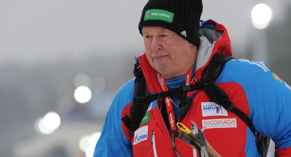 Bývalý trenér národního týmu žen ruského biatlonu Wolfgang Pichler