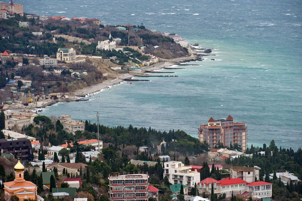 Zima na Krymu