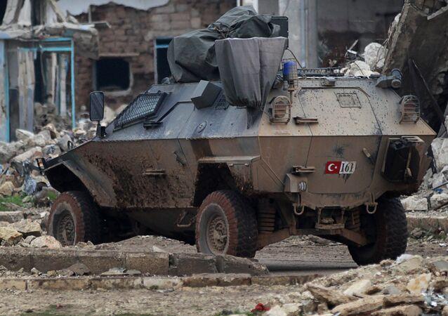 Turečtí vojáci v Sýrii