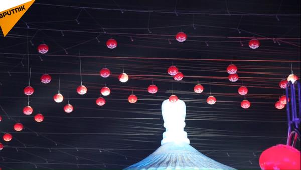 V Charbinu na severovýchodě Číny začal festival ledu a sněhu - Sputnik Česká republika