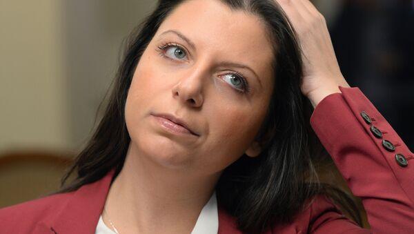 Šéfredaktorka Sputniku a RT Margarita Simonjanová - Sputnik Česká republika