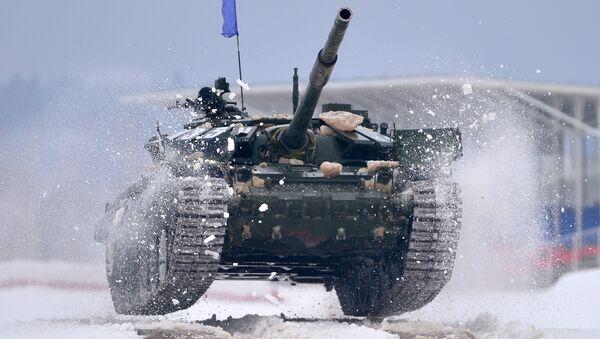 Tank Т-72 - Sputnik Česká republika