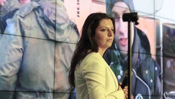Šéfredaktorka mezinárodní informační agentury (MIA) Rossia Segodnia Margarita Simoňanová - Sputnik Česká republika