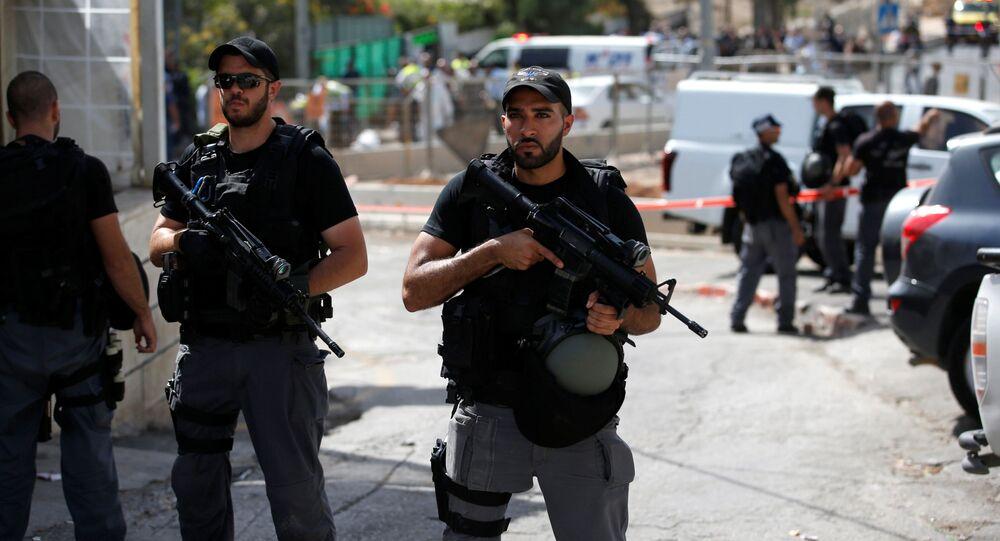 Izraelská policie