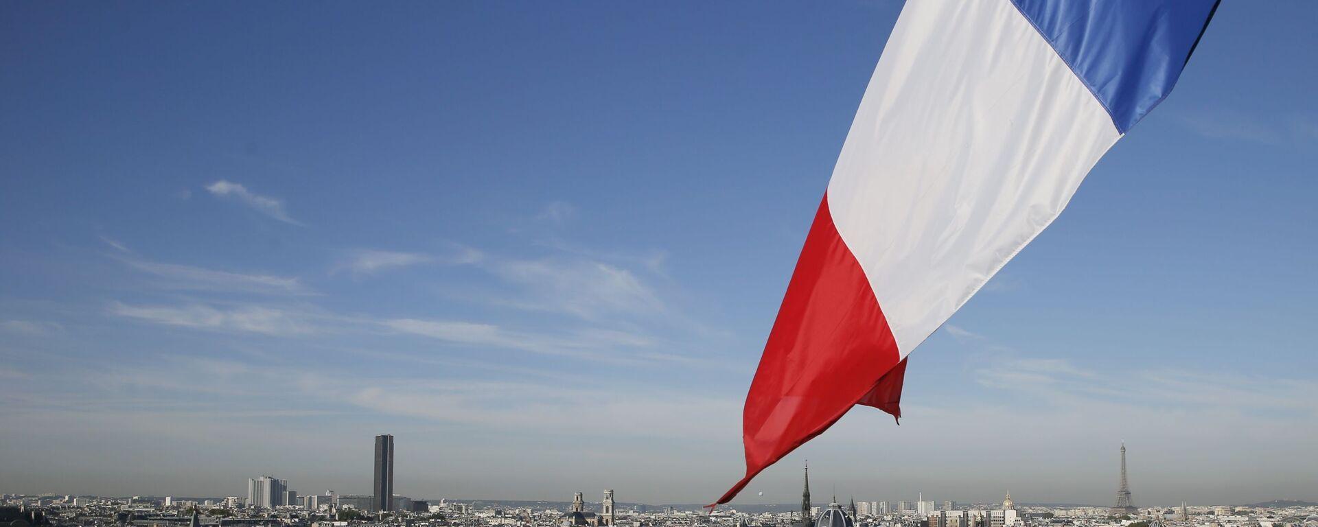 Francouzská vlajka - Sputnik Česká republika, 1920, 28.07.2021