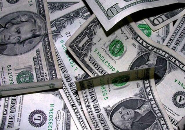 Americké dolary. Ilustrační foto