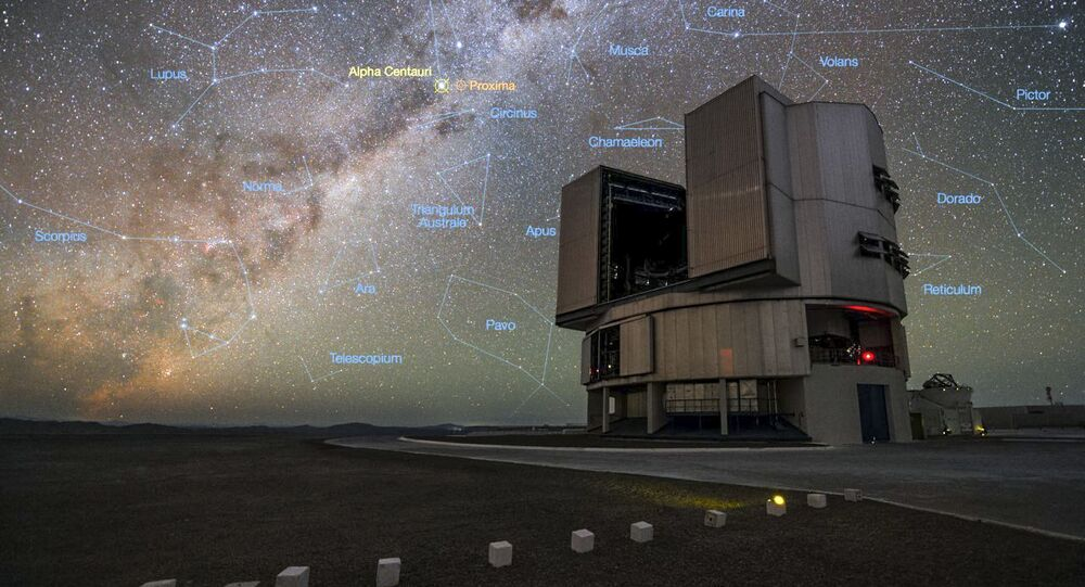 Největší optický teleskop VLT
