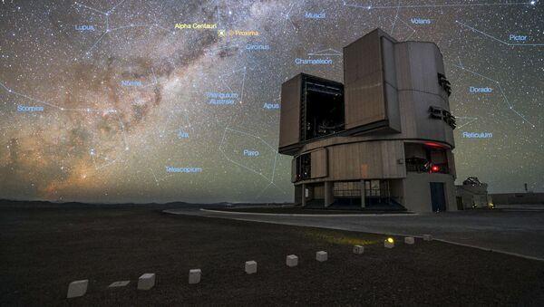 Největší optický teleskop VLT - Sputnik Česká republika