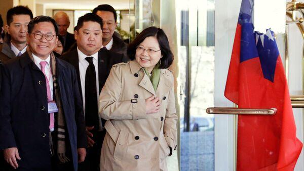 Šéf administrativy Tchaj-wanu Chaj Jing-wen - Sputnik Česká republika