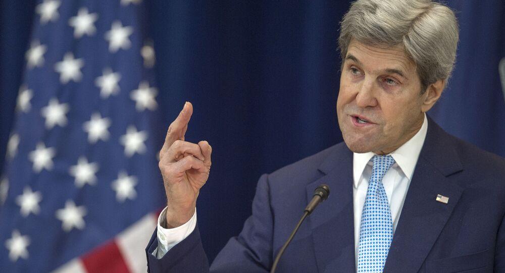 Americký ministr zahraničí John Kerry