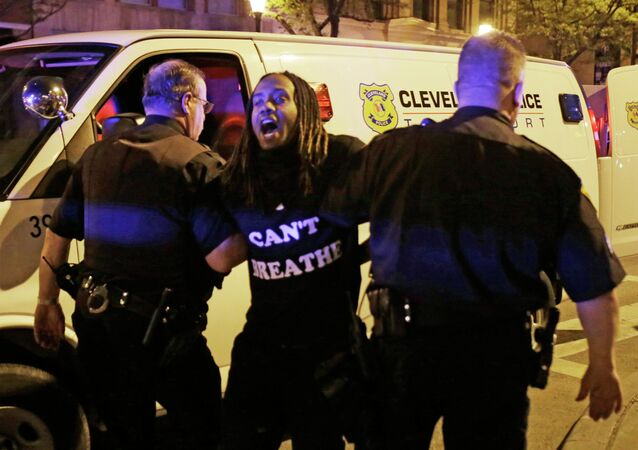 Demonstrace v Clevelandu, Ohio